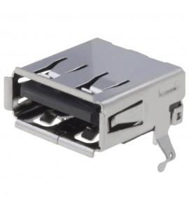 USB-A ZÁSUVKA 4PIN DPS SMT