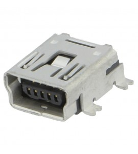 USB-B MINI ZÁSUVKA 5PIN DPS...