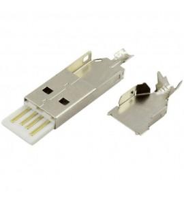 USB-A ZÁSTRCKA 4PIN...