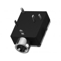 3.5 mm stereo panel jack