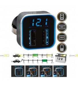 AUTO USB ADAPTÉR 2x 5V/2.1A...