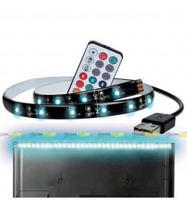 LED PÁS 1M-30LED RGB / USB...