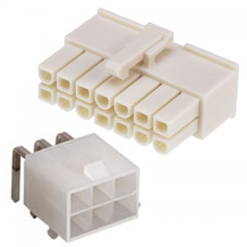 Signálové MiniFIT konektory; Raster: 4,2mm | VIACEJ.sk