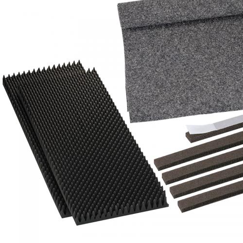 Tlmiace a poťahové materiály pre reproboxy | VIACEJ.sk