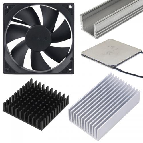 Ventilátory, hliníkové chladniče a peltierové články | VIACEJ.sk