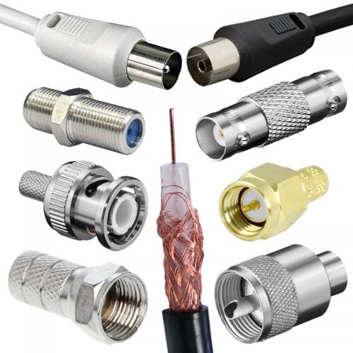 Konektory a káble na výrobu koaxiálnych káblov | VIACEJ.sk