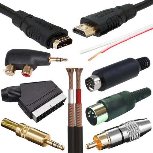 Komponenty na výrobu audio video káblov | VIACEJ.sk