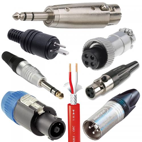 Komponenty pre zapojenie ozvučovacej techniky | VIACEJ.sk