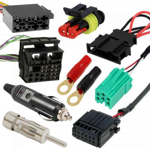 Konektory, redukcie a káble pre auto elektroniku | VIACEJ.sk