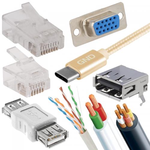 Konektory a káble pre sieť, internet a PC | VIACEJ.sk