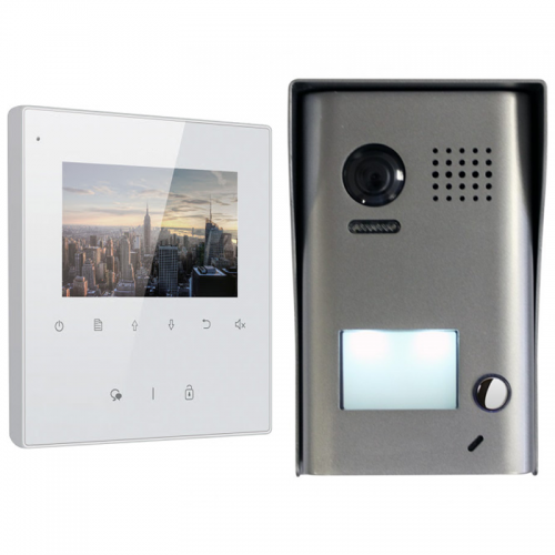 Elektrické audio a videovrátniky s kamerou | VIACEJ.sk