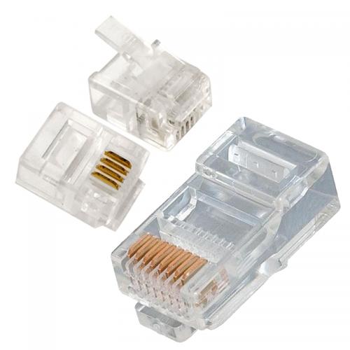 Internetové a telefónne RJ konektory | VIACEJ.sk