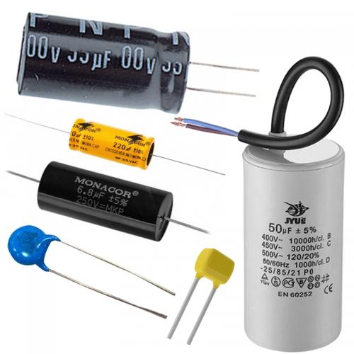 Kondenzátory pre elektroniku | VIACEJ.sk