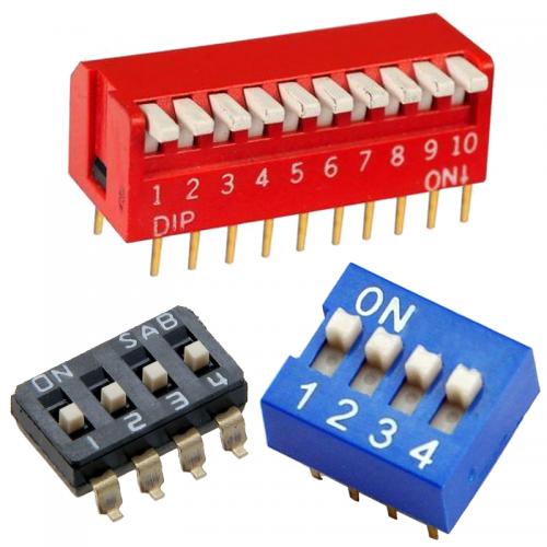 Dip-switch prepínače | VIACEJ.sk