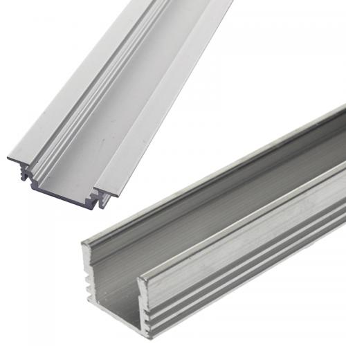 Hliníkové lišty pre LED pásy | VIACEJ.sk