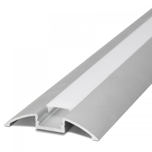 Povrchové hliníkové lišty pre LED pásy | VIACEJ.sk