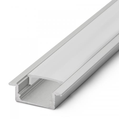 Zápustné hliníkové lišty pre LED pásy | VIACEJ.sk