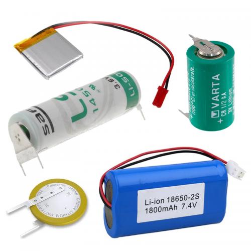 Batérie s vodičmi, kontaktami, vývodmi a do DPS | VIACEJ.sk