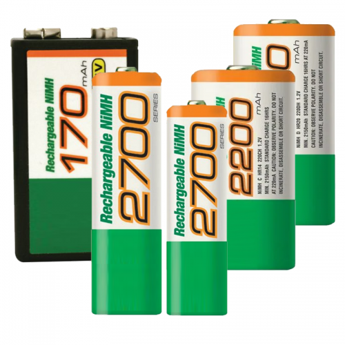 Spotrebné dobíjateľné batérie pre bežné použitie | VIACEJ.sk