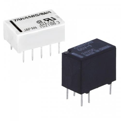 Elektromagnetické 3V 5V a 6V relé   VIACEJ.sk
