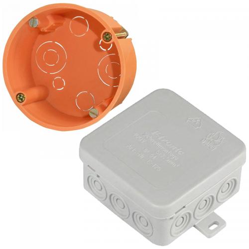 Elektro inštalačné krabičky a kryty | VIACEJ.sk