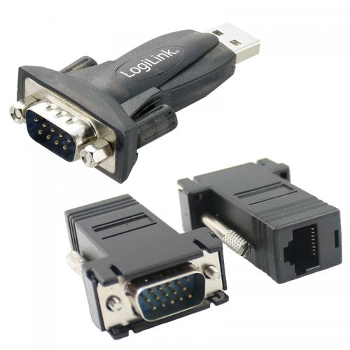 Redukcie pre dátové konektory USB, D-SUB, RJ | VIACEJ.sk